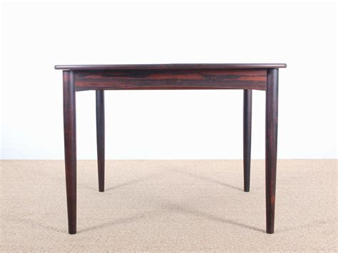 scandinavian dining table in rosewood by henry walter