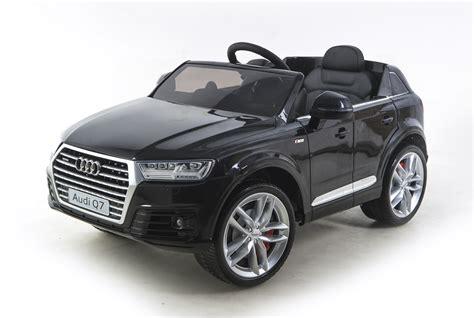 audi q7 car audi q7 4 2 tdi quattro 12v electric car black