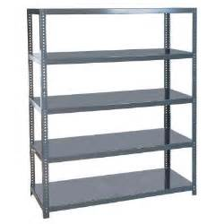 industrial steel shelving edsal 48 in w x 96 in h x 24 in d steel commercial