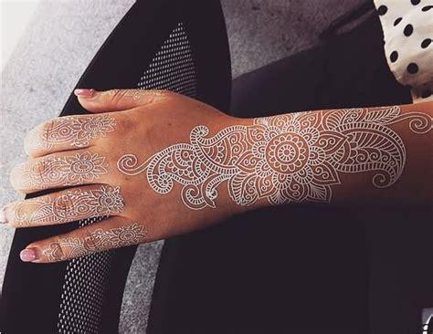 white ink henna tattoo 49 beautiful henna tattoos for