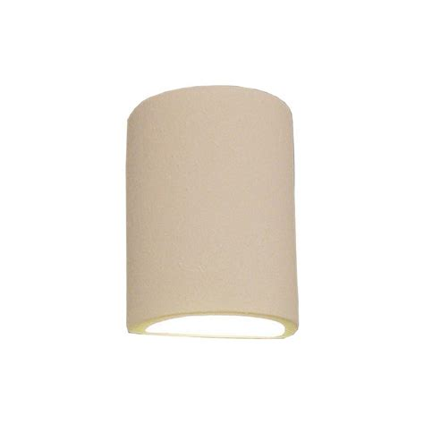 Ceramic Wall Sconce Filament Design Daniel Paintable Bisque Ceramic Outdoor Wall Sconce Cli Edg804494 The Home Depot