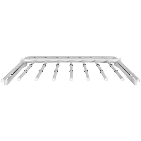 Slide Out Pant Rack by Rubbermaid Configurations Slide Out Rack In White