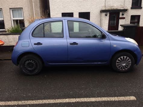 blue nissan micra 2004 blue nissan micra for sale in dublin from