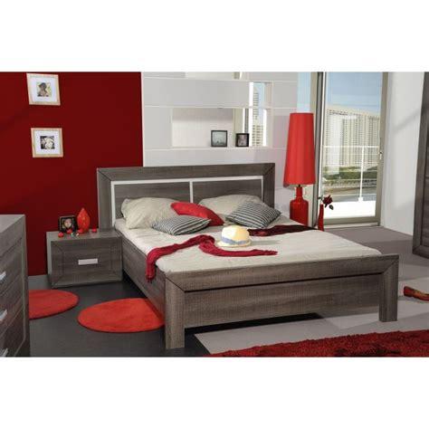 tete de lit en 160 538 avignon lit adulte 160 x 200 cm coloris bois gris achat