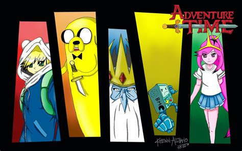 wallpaper anime adventure time new anime wallpaper of adventure time by kaitoarts on