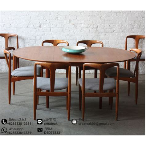 Meja Makan Bayi set kursi makan vintage retro createak furniture