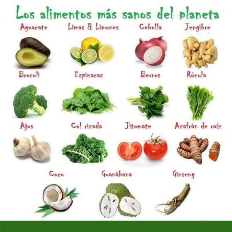 los alimentos saludables 1000 images about para una vida saludable on pinterest