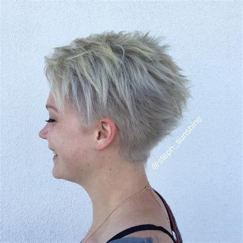 ash blonde pixie 40 super niedliche kurze frisuren f 252 r rundes gesicht