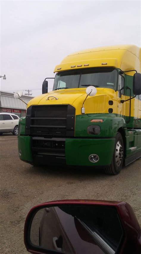 test truck modern mack truck general