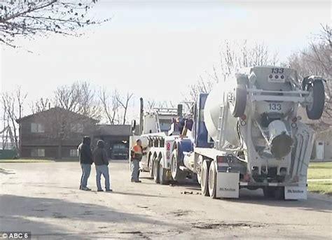 Dodge Concrete Minnesota Boy Goes On A Joyride In Stolen Cement Truck