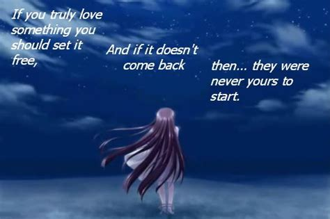 Anime Quotes Sad by Anime Sad Quotes About Quotesgram