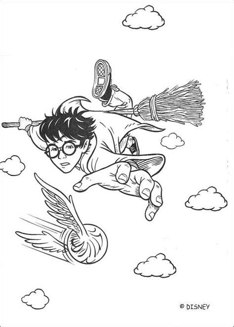 coloring page quidditch coloriages le vif d or au quidditch fr hellokids com