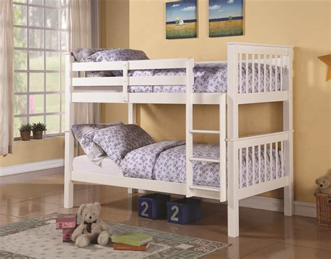 bunk beds austin austin twin twin wood bunk bed the sleepfactory