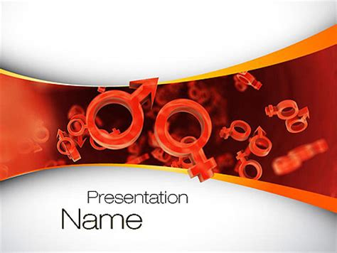 powerpoint templates free download gender sex cells powerpoint template backgrounds 10795