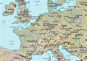 Europe Travel Map by Google Maps Europe Map Of Europe Travel Pictures