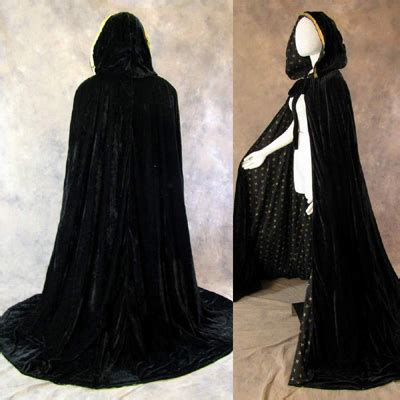pattern for black cape black velvet cloak with gold fleur de lis pattern