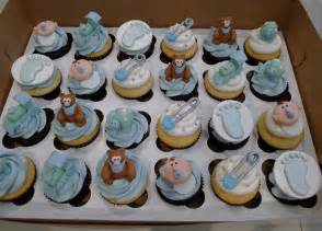 baby shower cupcakes decorations boy baby shower blue theme cupcakes