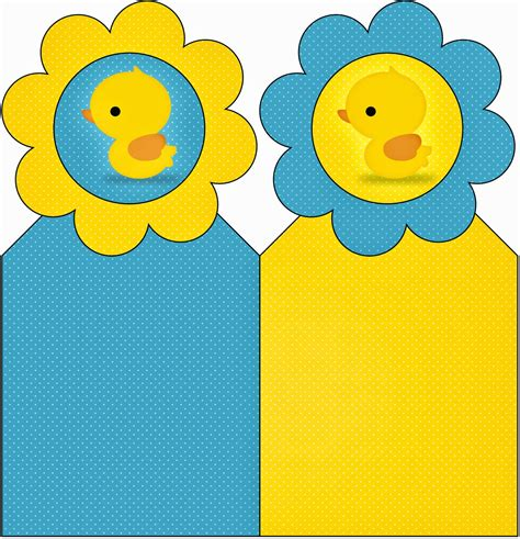 rubber ducky free party printables is it for parties