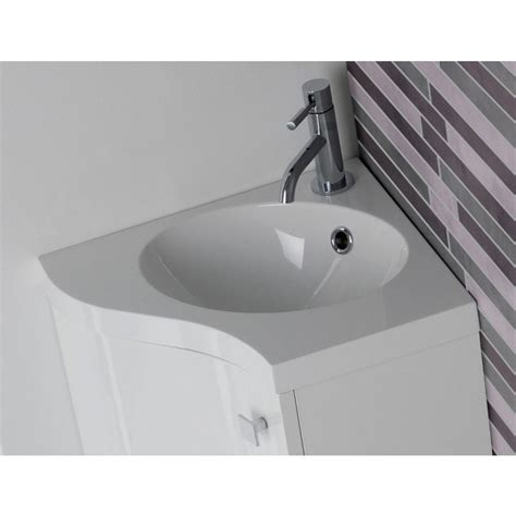 small corner vanity units for bathroom bestselling orca swirl corner vanity unit from serene