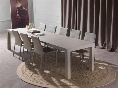 tavoli da pranzo moderni allungabili tavolo da pranzo allungabile fino a 12 posti idfdesign