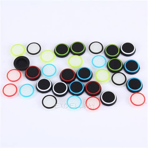 Sale Thumb Grips Xbox360 Ps3 Ps2 Isi 4pc 32pcs silicone cap joystick thumb stick grip cap cover for ps3 ps4 xbox one 360 ebay