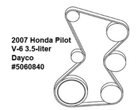 2007 honda pilot serpentine belt diagram 2007 honda pilot v6 3 5l serpentine belt diagram