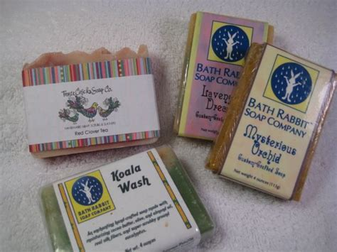 Handmade Soap Labels - simple handmade soap packaging and wrapping