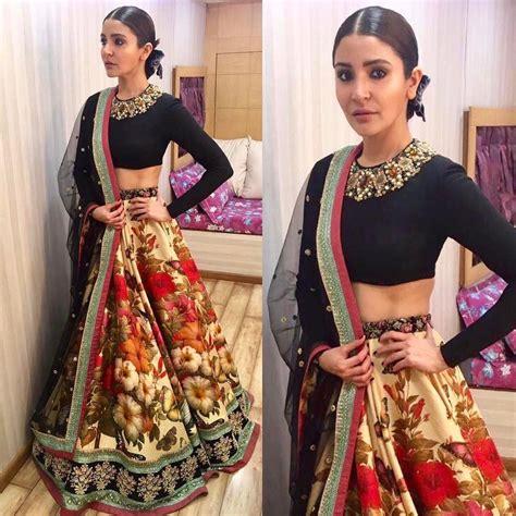 Sharma Designs The Of A - anushka sharma in sabyasachi 2017 couture line