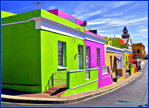 colorful houses painting bo kaap the quot bo kaap quot or quot cape malay quarter quot as it was