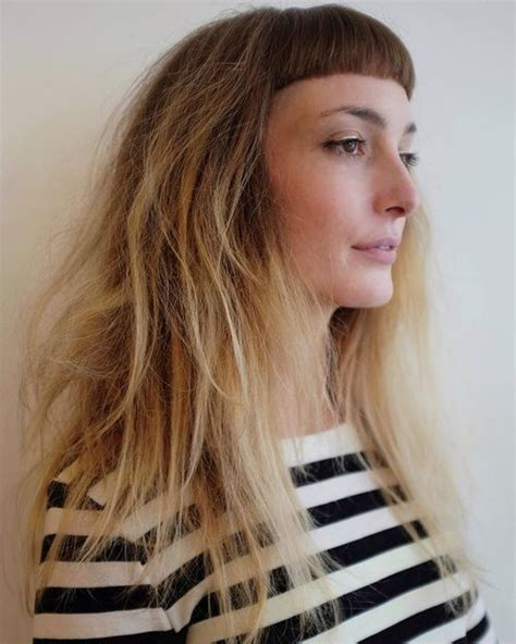 hairstyles with light bangs 17 best ideas about light bangs on pinterest fringe