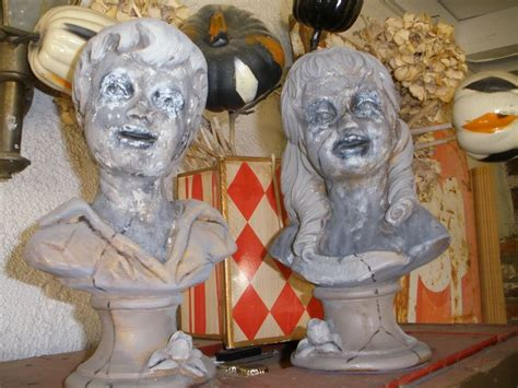 How To Make A Paper Mache Bust - 1000 images about busts statues on