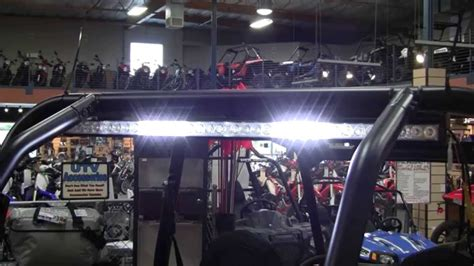 led light bar rzr led rear light bar polaris rzr xp 1000 side by side