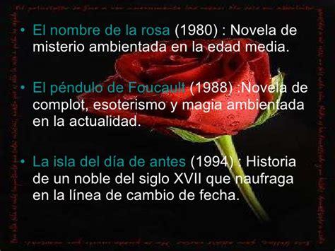 el nombre de la el nombre de la rosa