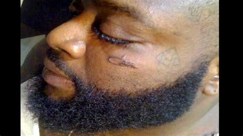 rick ross tattoos rick ross gets cazal tattooed on his