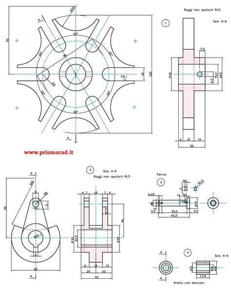 tavole disegno meccanico esempi disegni meccanici prismacad