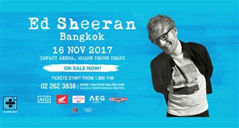 Ed Sheeran Bangkok | ed sheeran live in bangkok 2017
