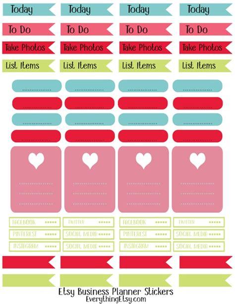 Galerry printable planner labels