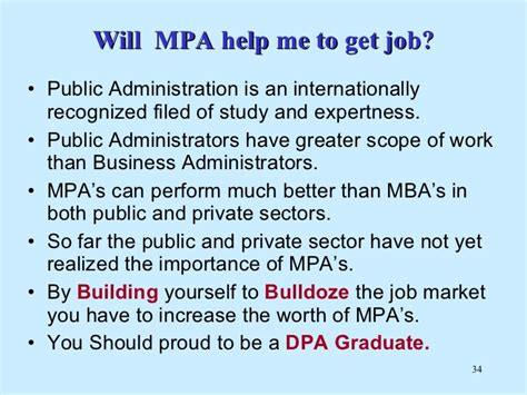 Whats Better Mpa Or Mba by Department Of Administration Ku Career Counseling