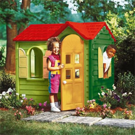 buy tikes country cottage play house evergreen
