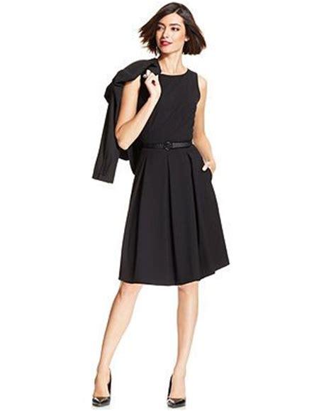 845 Line Dress tahari asl two button blazer pleated a line dress all