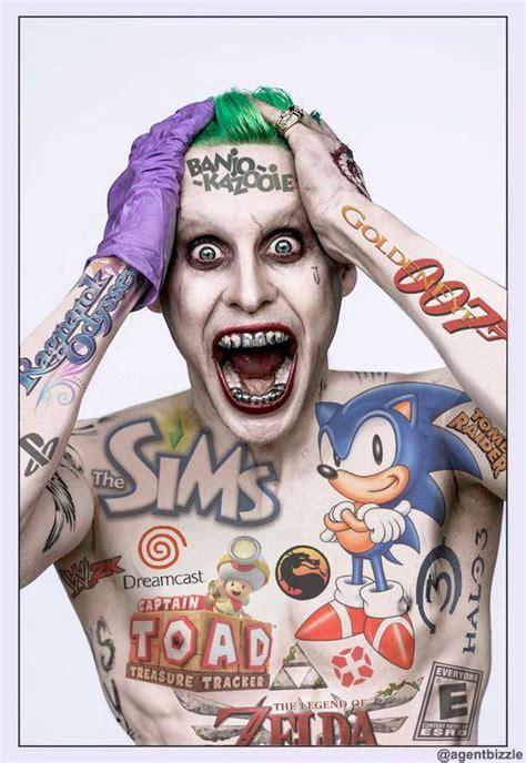 batman joker tattoo meme jared leto s joker know your meme