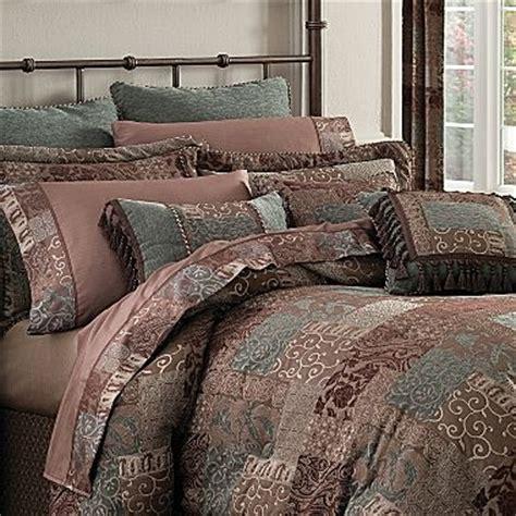 croscill classics 174 catalina brown 4 pc chenille comforter