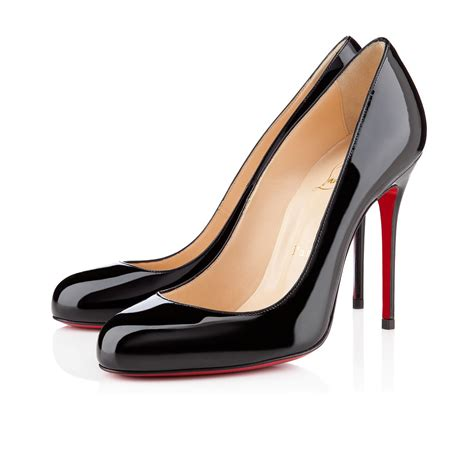 Christian Louboutin christian louboutin patent leather fifi pumps bottom shoes for