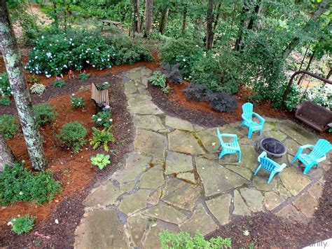 Shady Backyard Landscape Ideas Shady Backyard Backyard Pinterest Patios Backyards And Patio