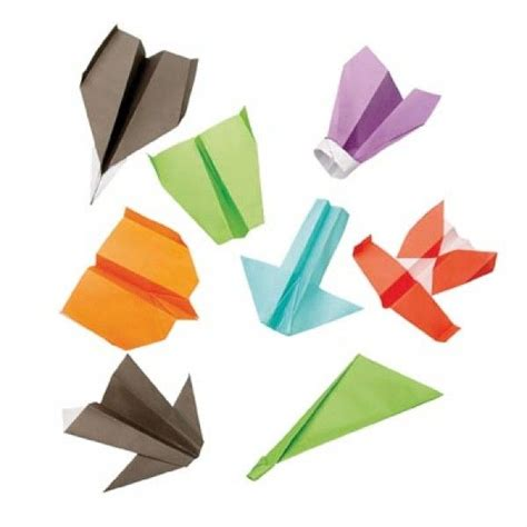 Origami Flying Plane - flying origami paper plane gift set