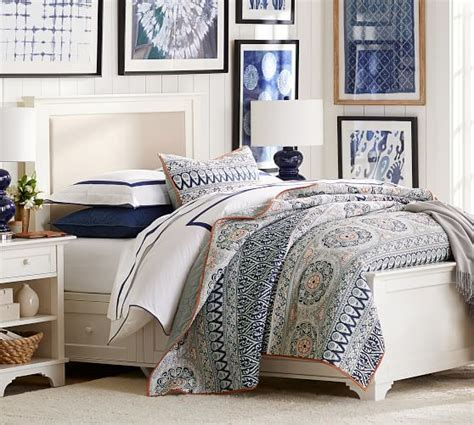 Quilt Pottery Barn by Pia Medallion Quilt Sham Pottery Barn