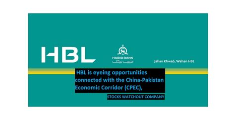 habib bank limited pakistan hbl keeps eye on cpec project stocks watchout