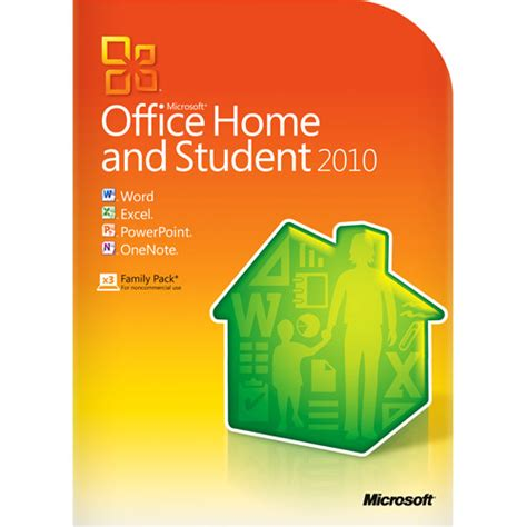 home microsoft office microsoft office 2010 home and student walmart com