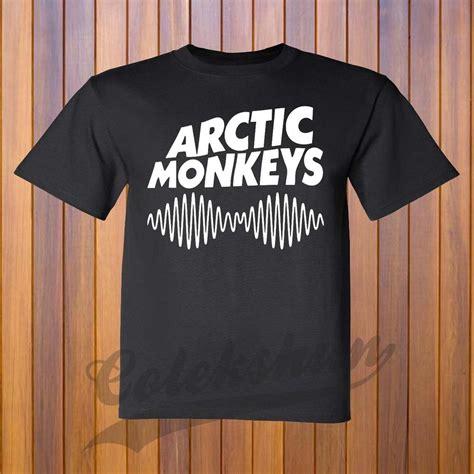 Tshirt Arctic Monkey Black arctic monkeys ii rock band t shirt s