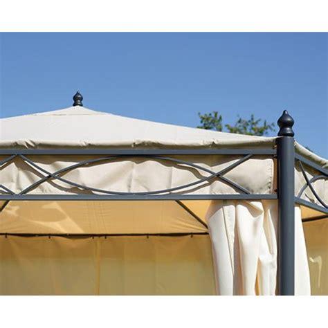 gazebo esagonale gazebo da giardino esagonale 4mt in ferro san marco